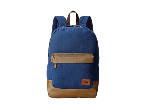 Quiksilver - Night Track Modern Original Backpack (Navy) Backpack Bags