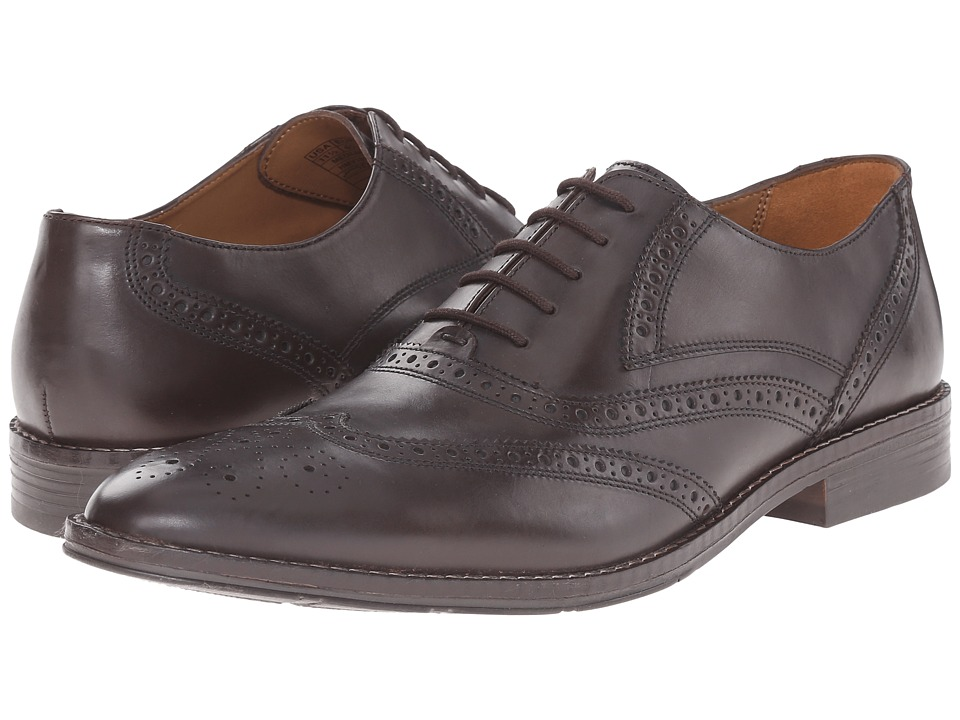 Hush Puppies - Norman Bronson (Brown Leather) Men's Shoes