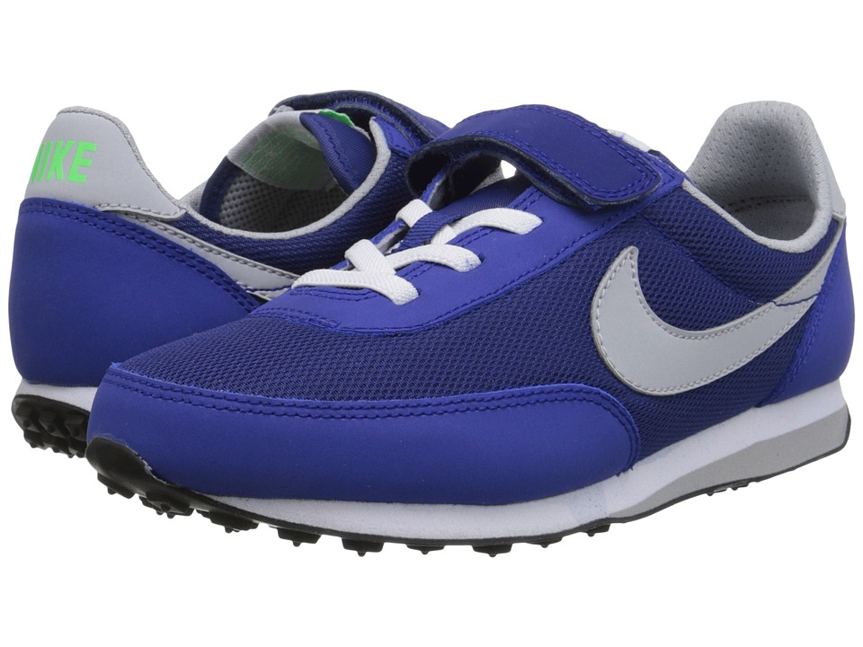Nike Kids - Elite (Little Kid) (Deep Royal Blue/White/Cool Grey/Wolf Grey) Boys Shoes