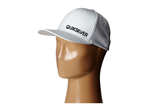 Quiksilver - Sided Hat (White) Caps