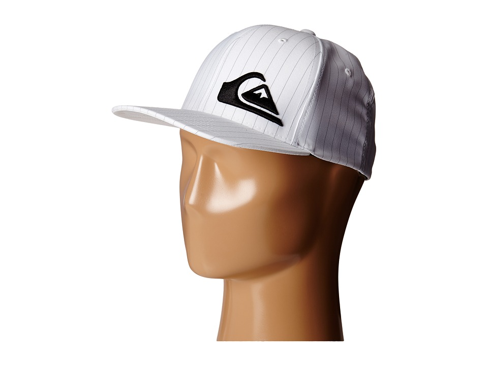 Quiksilver - Final Hat (White) Caps