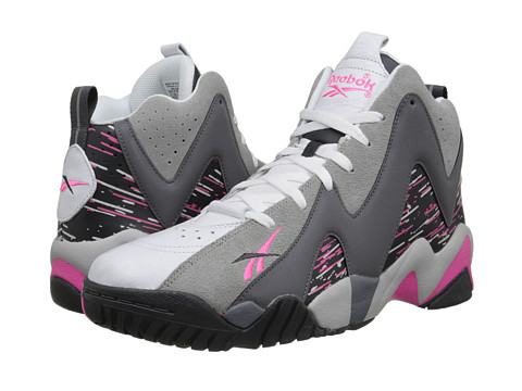 Reebok - Kamikaze II Mid (Carbon/Shark/Solid Grey) Men's Shoes