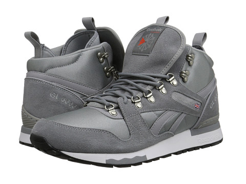 Reebok - GL 6000 Mid (Foggy Grey/Flat Grey/Tin) Men's Shoes