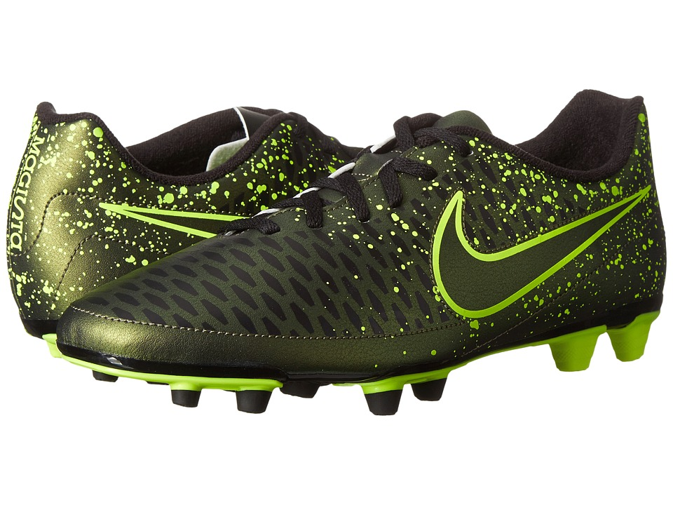 Nike - Magista Ola FG (Dark Citron/Black/Dark Citron) Men's Soccer Shoes