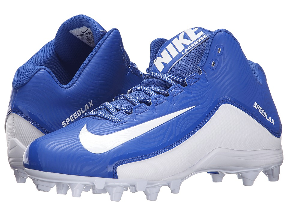 Nike - Speedlax 5 (Game Royal/White/White) Men's Cleated Shoes