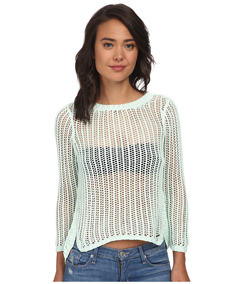Volcom - All Meshed Up Sweater (Seaglass) Women