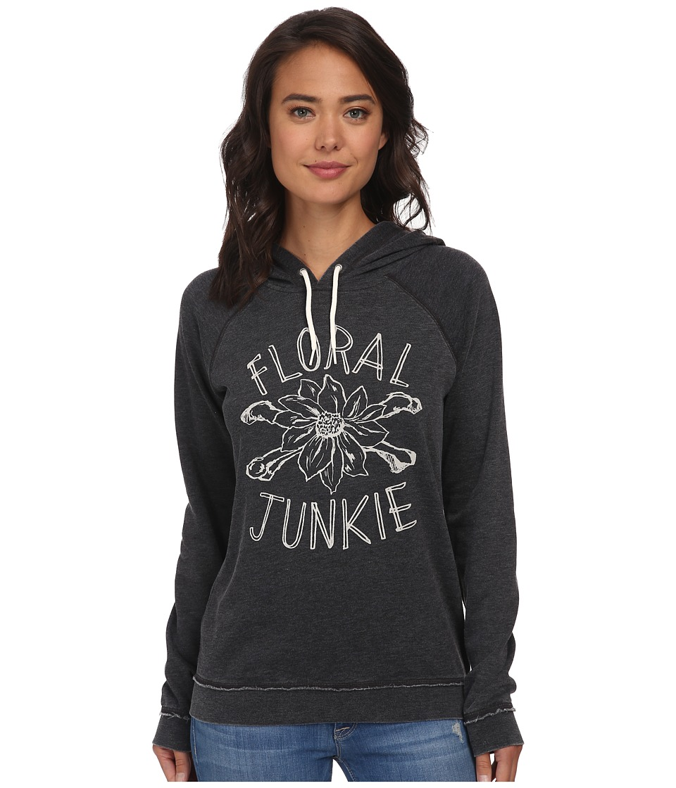 Volcom - Crowd Pleaser Hoodie (Vintage Black) Women's Sweatshirt
