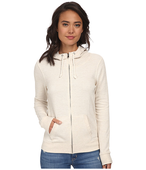 Volcom - Silver Lining Zip-Up Fleece (Oatmeal) Women