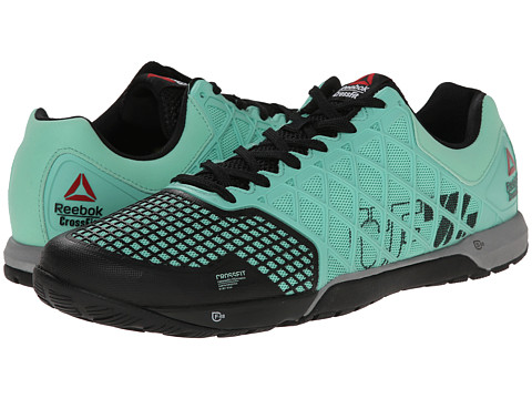 Reebok - CrossFit Nano 4.0 (Mint Glow/Black/Metallic Silver) Men's Shoes