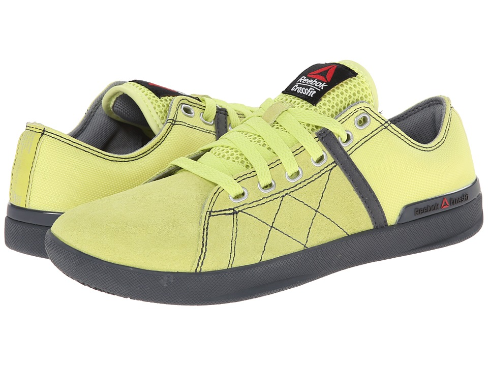 Reebok - CrossFit Lite Lo TR Poly (High Vis Green/Graphite) Men's Shoes