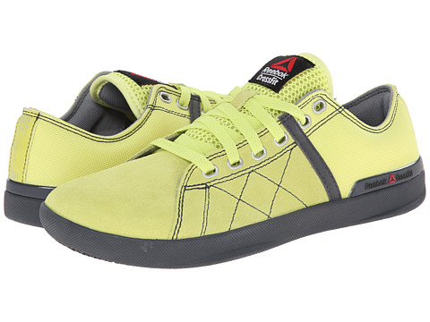 Reebok - CrossFit Lite Lo TR Poly (High Vis Green/Graphite) Men