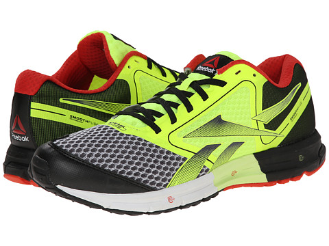 Reebok - ONE Guide (White/Black/Neon Yellow) Men's Shoes