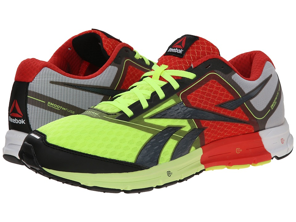 Reebok - ONE Cushion (Neon Yellow/China Red/White) Men's Shoes