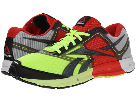Reebok - ONE Cushion (Neon Yellow/China Red/White) Men