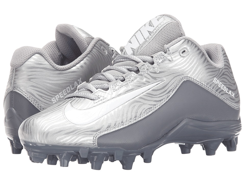 Nike - Speedlax 5 (Metallic Silver/Cool Grey/White) Women's Cleated Shoes
