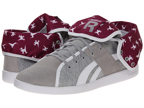 Reebok - Top Down NC TXT (Medium Grey Heather/Solid Grey/White) Women