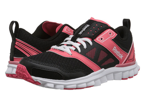 Reebok - Realflex Speed 3.0 (Black/Tres Sorbet/White) Women's Shoes