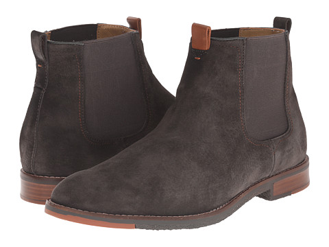 Hush Puppies - Thor Hamlin (Charcoal Suede) Men