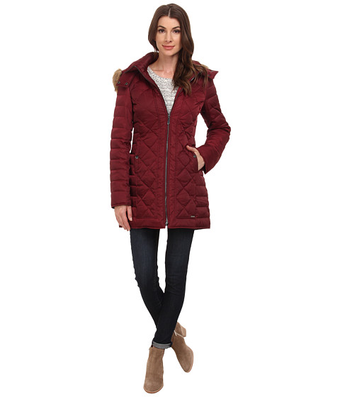 Kenneth Cole New York - Quilted Down Walker (Merlot) Women