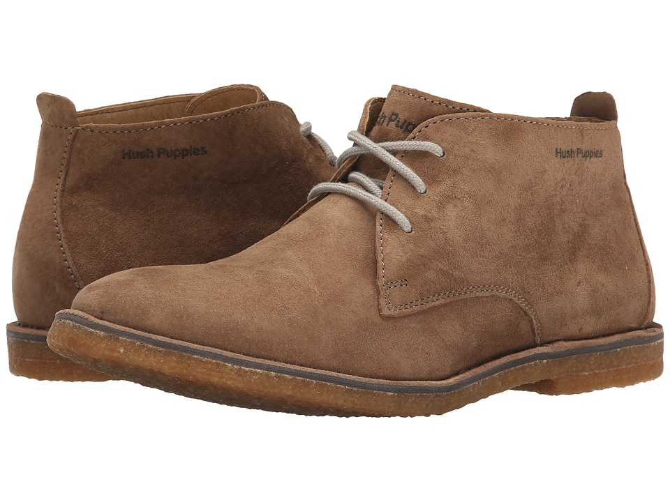 Hush Puppies - Desert II (Taupe Suede) Men