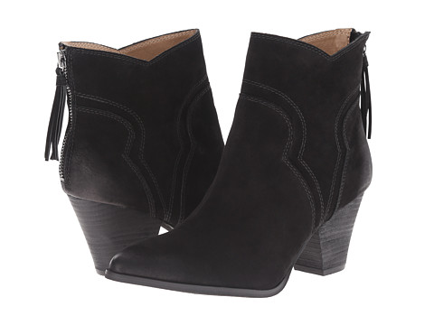 Splendid - Asher (Black Nubuck) Women's Zip Boots