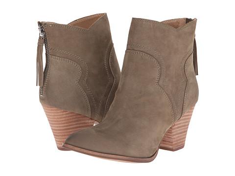 Splendid - Asher (Moss Nubuck) Women's Zip Boots