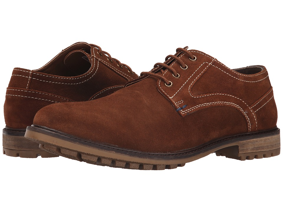 Hush Puppies Rohan Rigby Tan Suede Mens Lace up casual Shoes
