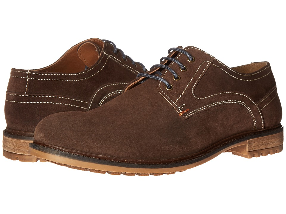 Hush Puppies - Rohan Rigby (Dark Brown Suede) Men's Lace up casual Shoes