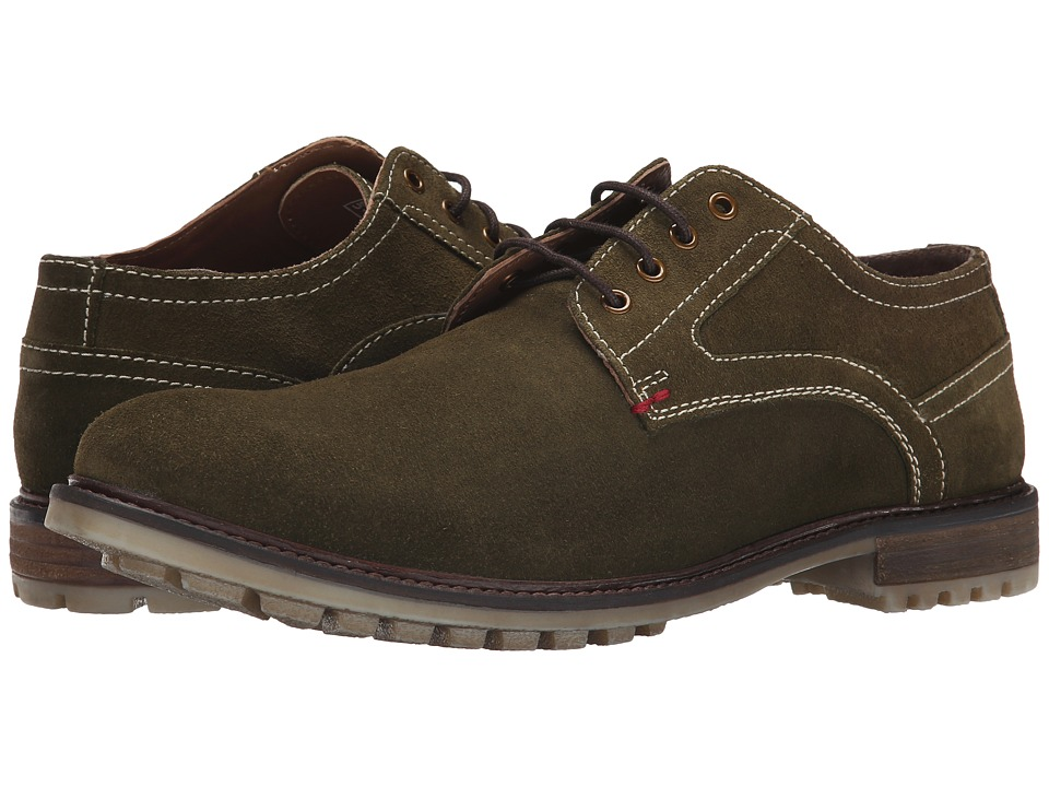 Hush Puppies - Rohan Rigby (Olive Suede) Men