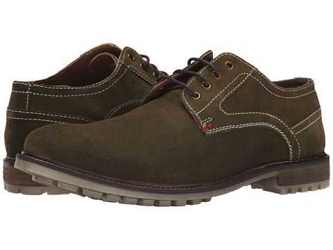 Hush Puppies - Rohan Rigby (Olive Suede) Men's Lace up casual Shoes