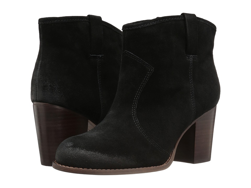Splendid - Lakota (Black Silky Cow Suede) Women's Pull-on Boots