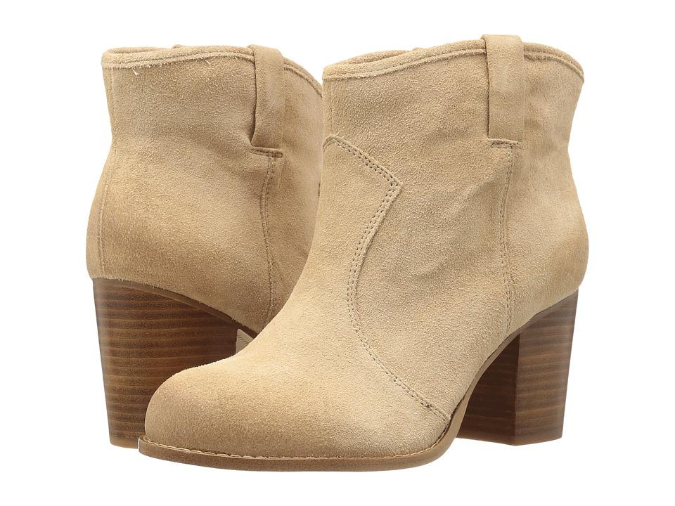 Splendid - Lakota (Nut Cow Suede) Women's Pull-on Boots