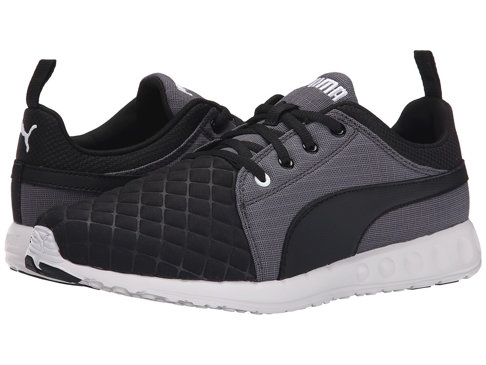 PUMA - Carson Runner Quilt (Black/Periscope/White) Men's Shoes