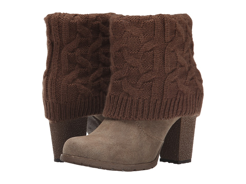 MUK LUKS - Chris (Light Brown) Women's Boots