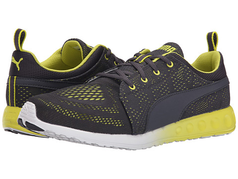 PUMA - Carson Runner EM (Black/Sulphur Spring/White) Men's Shoes