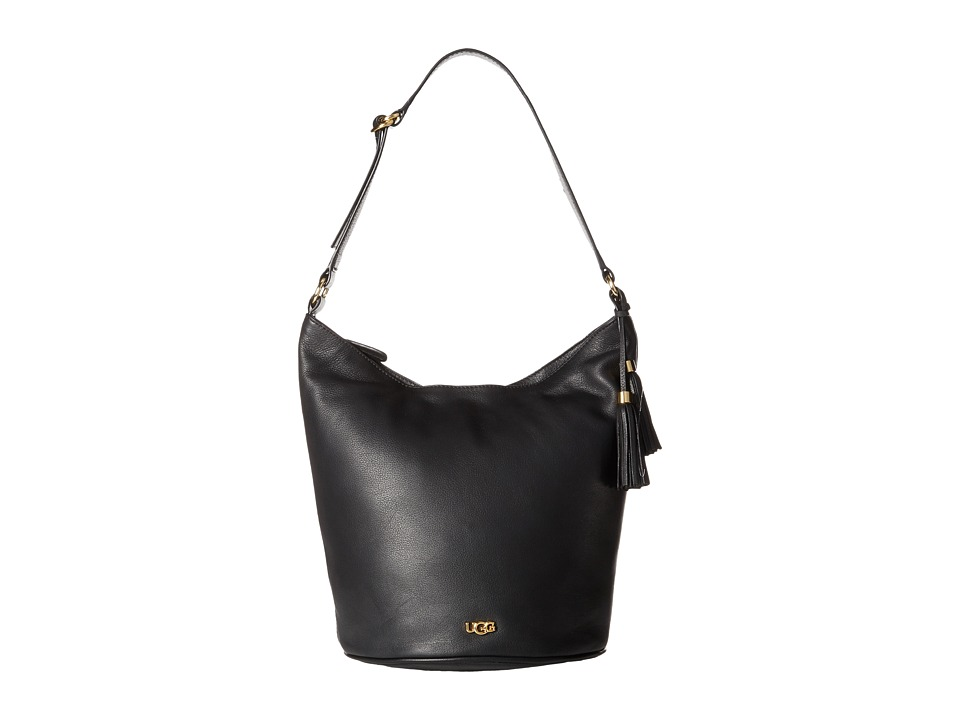 UGG - Rae Hobo (Black) Hobo Handbags