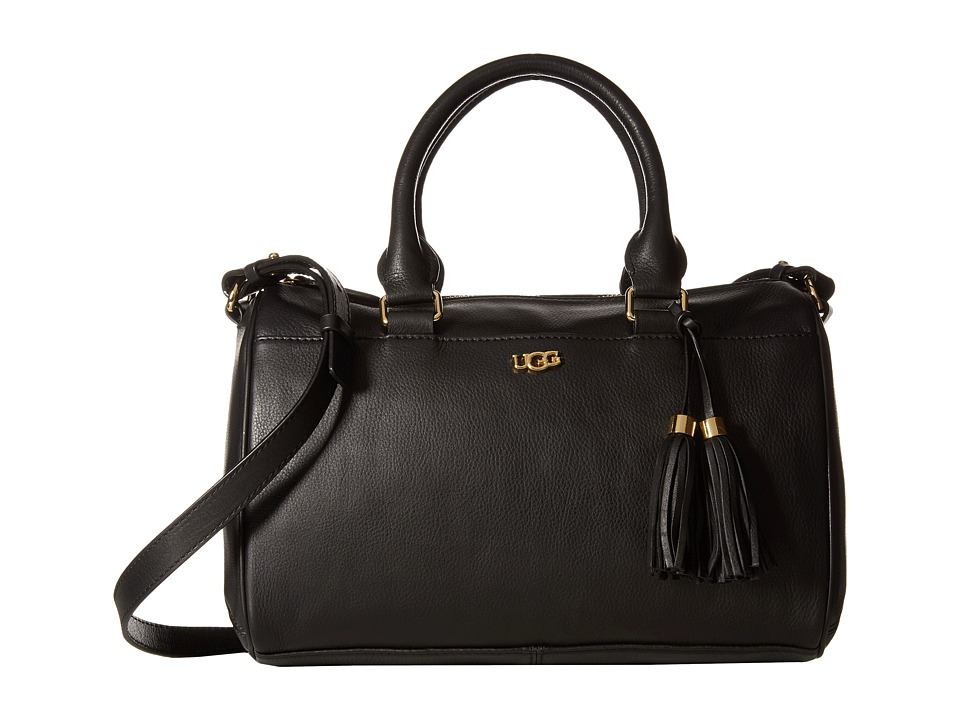 UGG - Rae Satchel (Black) Satchel Handbags