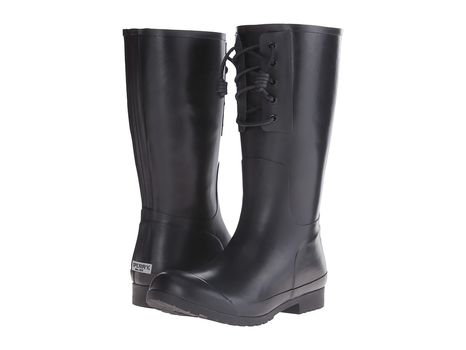 Sperry Top-Sider - Walker Spray (Black) Women's Rain Boots