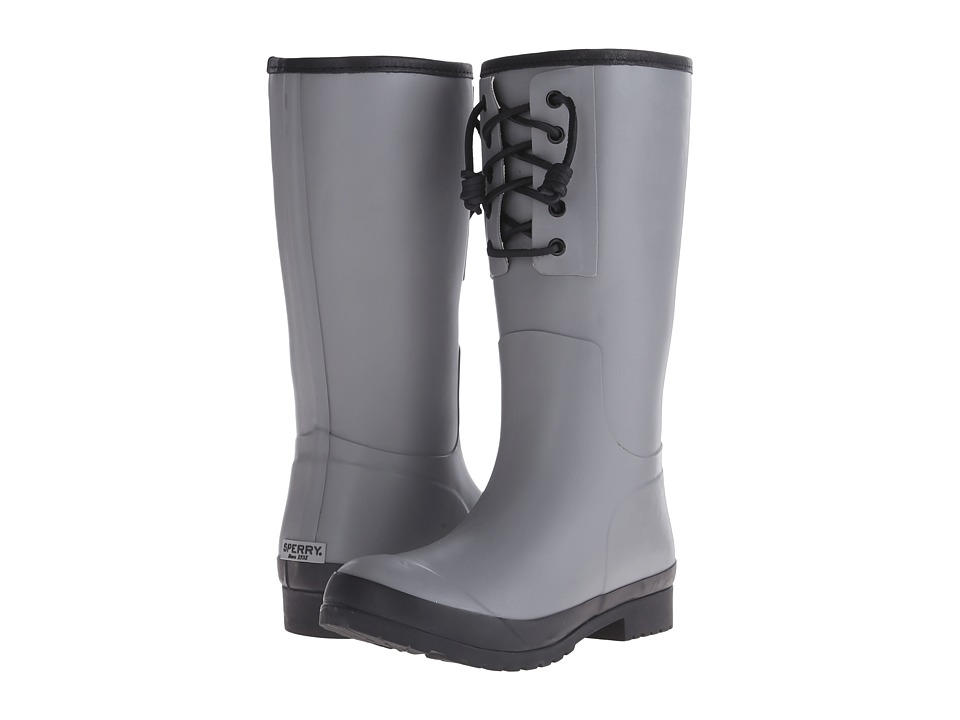 Sperry Top-Sider - Walker Spray (Grey/Black) Women's Rain Boots