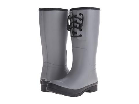 Sperry Top-Sider - Walker Spray (Grey/Black) Women's Rain Boots