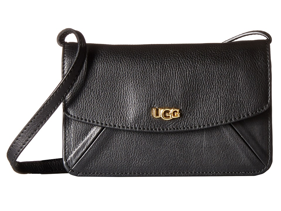 UGG - Rae Crossbody (Black) Cross Body Handbags