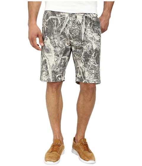 Volcom - Faceted Printed Short (Dark Grey) Men