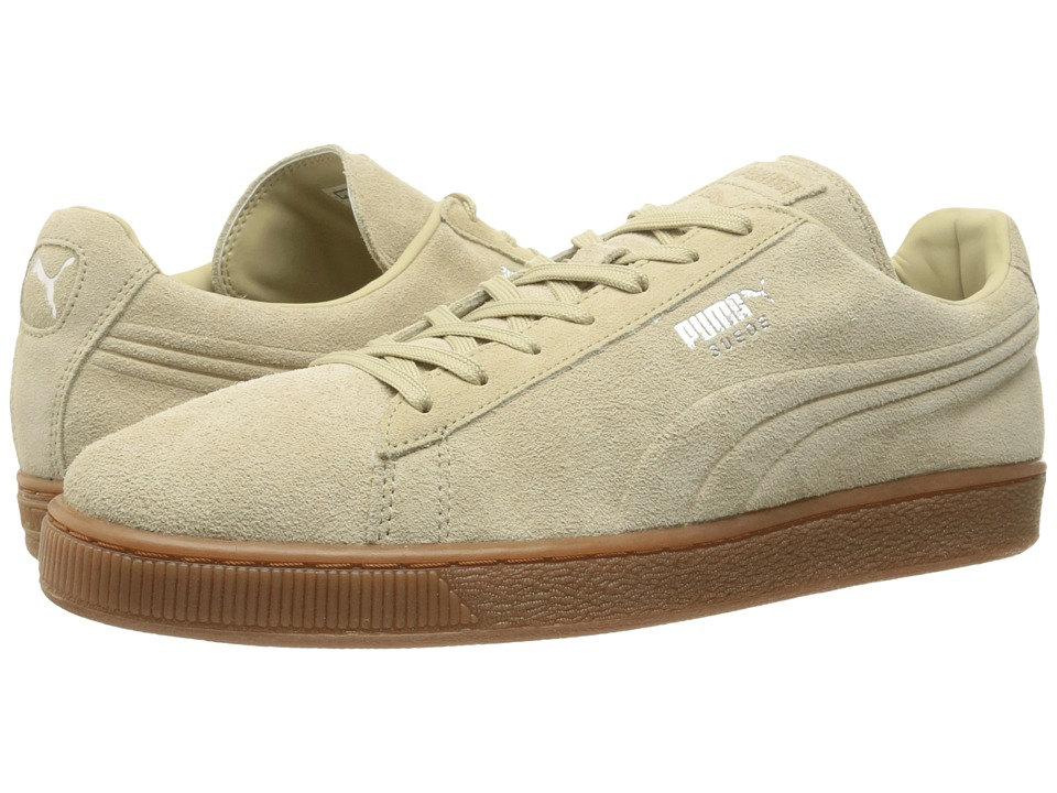 PUMA - The Suede Emboss (Burnt Olive/Gum) Men's Shoes