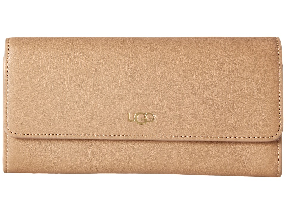 UGG - Rae Slim Wallet (Sugar Pine) Wallet Handbags