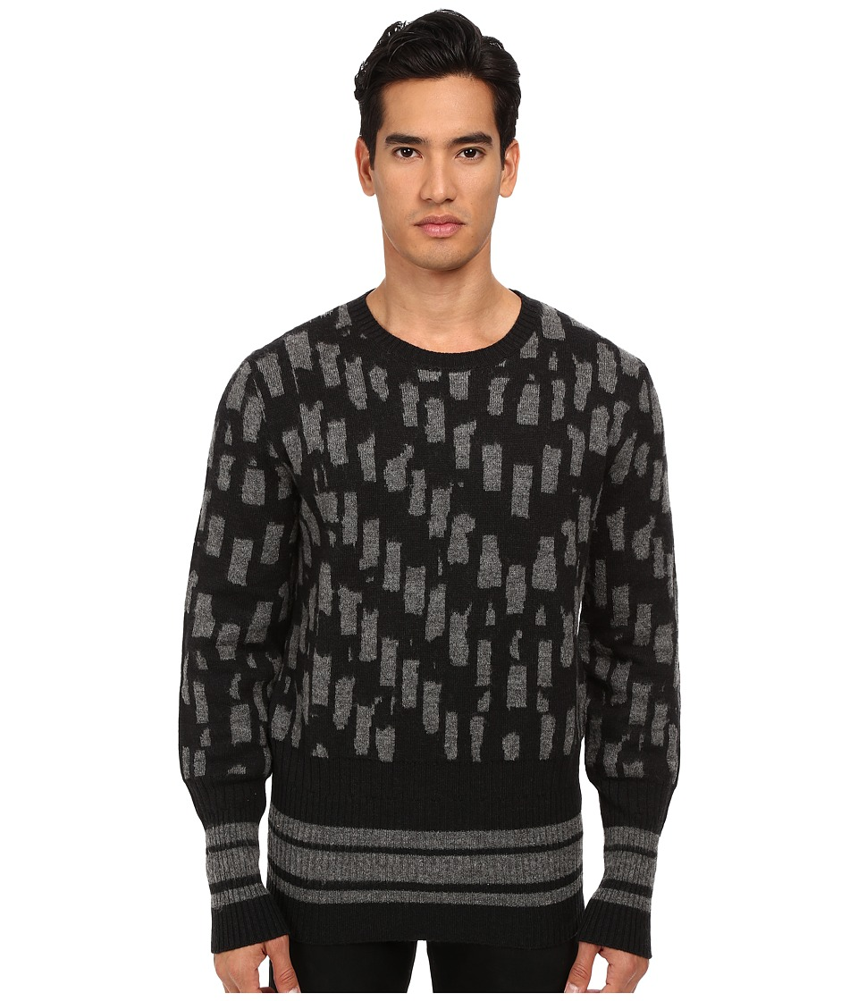Vivienne Westwood MAN - Herringbone Pullover (Grey Multi) Men's Sweater