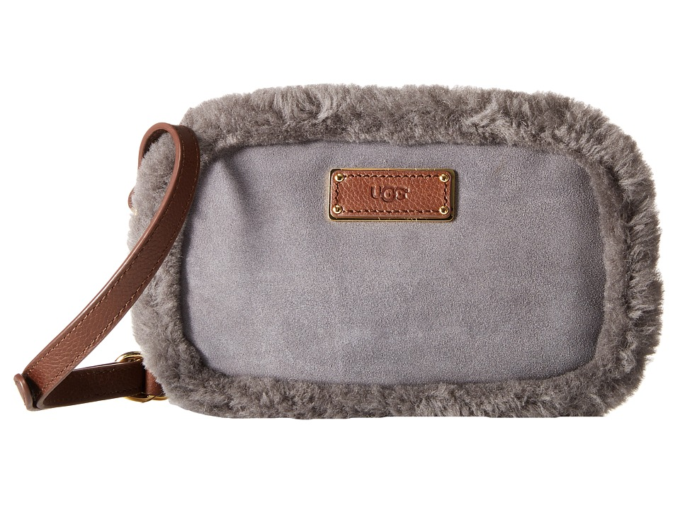 UGG - Seldon Crossbody (Grey) Cross Body Handbags