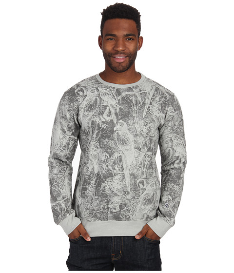 Volcom - Disorder Crew (Cement Grey) Men's Sweatshirt