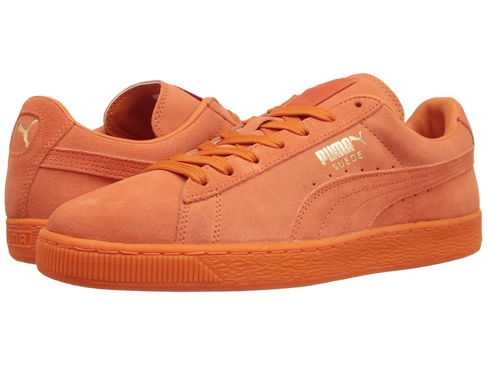 PUMA - The Suede Classic+ Iced (Orange Clown Fish/Orange Clown Fish) Men's Shoes