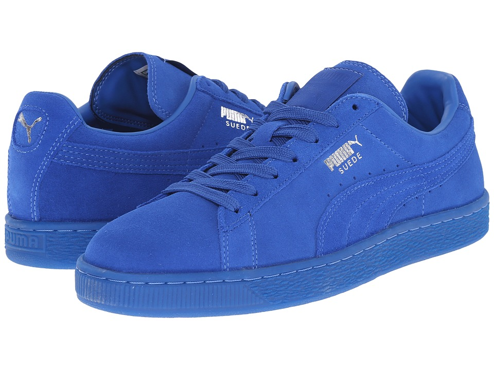 PUMA - The Suede Classic+ Iced (Puma Royal/Puma Royal) Men's Shoes