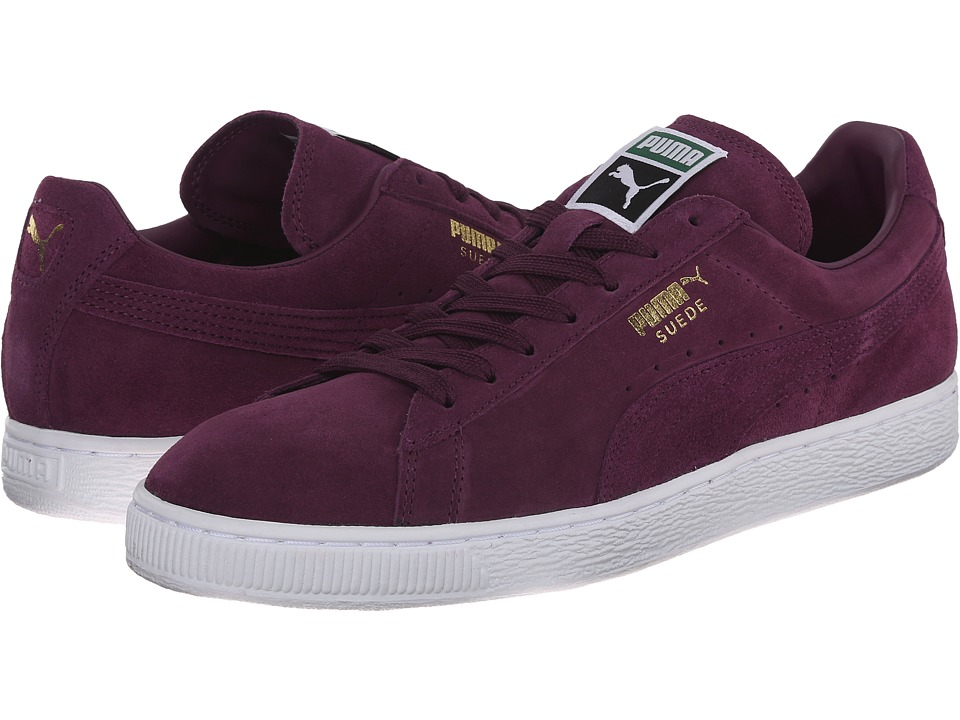 PUMA - The Suede Classic+ (Italian Plum/White) Men